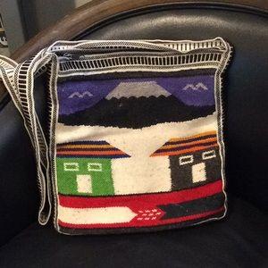 Handbags - Mexican Blanket Bohemian Cross Body Purse (morral)